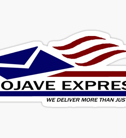 We Deliver More Than Just Mail! Sticker