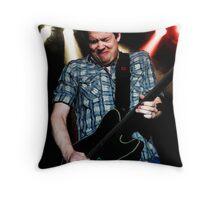 Jonny Lang Blues Guitarist Throw Pillow