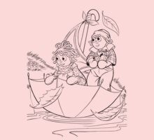 Raggedy Ann & Andy Go Sailing Kids Clothes