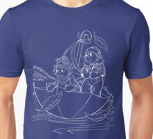 Raggedy Ann & Andy Go Sailing Unisex T-Shirt