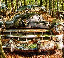 Cadillac with Attitude by Mike Koenig