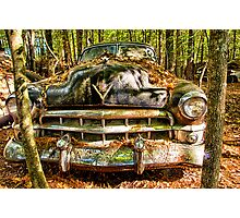 Cadillac with Attitude Photographic Print
