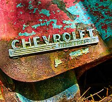 Chevrolet Red by Mike Koenig