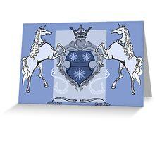 Heraldic Unicorns Greeting Card