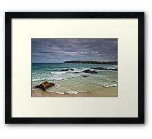 Lewis: Ness Beach Framed Print