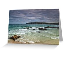 Lewis: Ness Beach Greeting Card