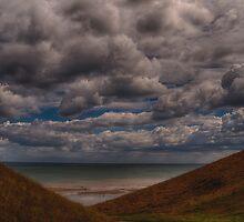 Clouds over the Beach by Glen Allen