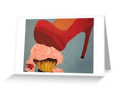 Pop Art - Cupcake Smash Greeting Card