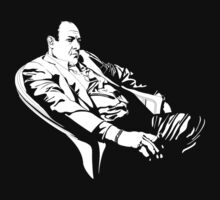 Tony Soprano sit by santilopez