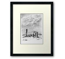 Kealkil Stone Circle Framed Print