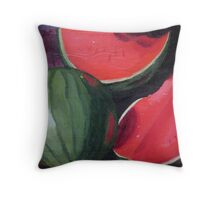Watermelons Throw Pillow