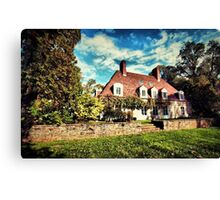 Chateau Autun Canvas Print