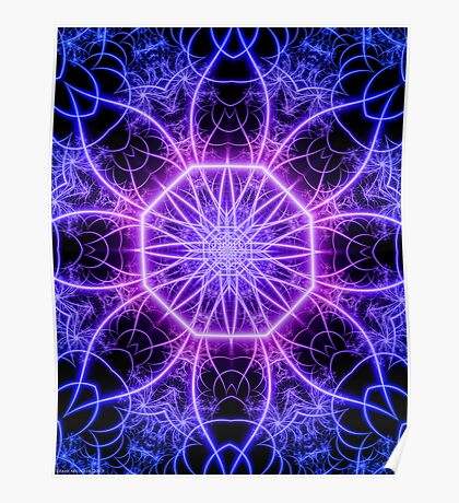 Intranet  - Symbolic Abstract Fractal Art   Poster