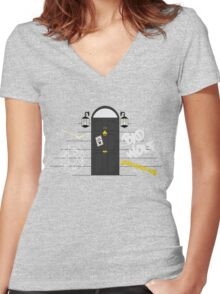 Messages for Sherlock Women's Fitted V-Neck T-Shirt