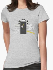 Messages for Sherlock Womens Fitted T-Shirt