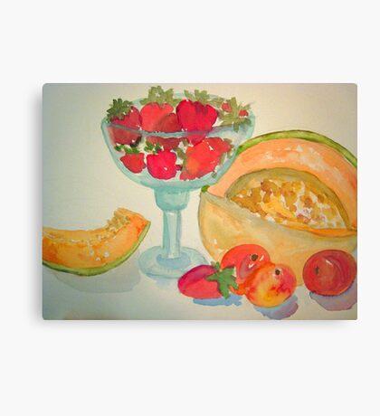 Summertime Fruit  Canvas Print