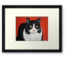 Mixie my Muse Framed Print