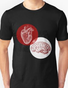 Hearts and Minds Unisex T-Shirt