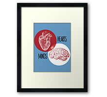 Hearts and Minds Framed Print