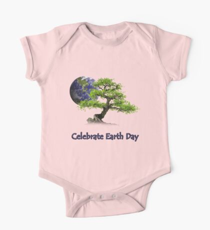 Celebrate Earth Day One Piece - Short Sleeve