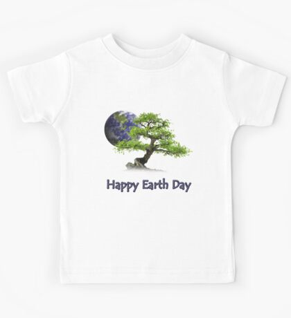 Happy Earth Day Kids Tee