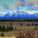 Grand View of Grand Tetons by Raider6569