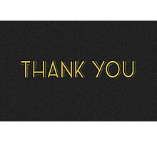thank you cards Photographic Print