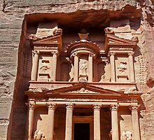 The Treasury, Petra by bulljup