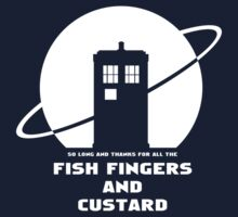 SO LONG AND THANKS FOR ALL THE FISH FINGERS  by ToneCartoons
