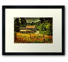 I Remember It Was In The Summer Framed Print