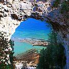 Arched Rock by Jeri Garner