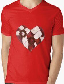 Nigh a Heart Mens V-Neck T-Shirt