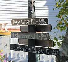 Mackinac Island Sign by Jeri Garner