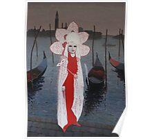 Carnival Time Venice Poster