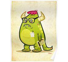 Monster Nerd Poster