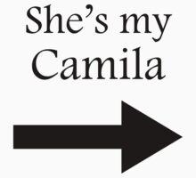 She's my Camila > black on white One Piece - Short Sleeve