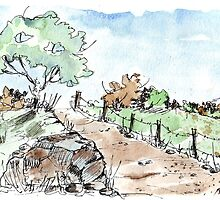 A beautiful fence by Maree  Clarkson
