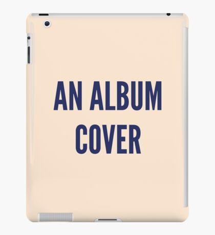Anal Bum Cover iPad Case/Skin