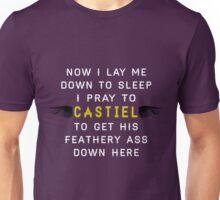 Now I Lay Me Down To Sleep I Pray to Castiel Unisex T-Shirt