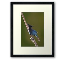 And I Guess That's Why They Call It The Blues Framed Print