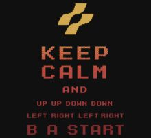 Keep Calm Konami by Alsvisions
