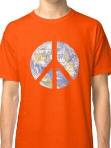 World Peace Symbol Classic T-Shirt