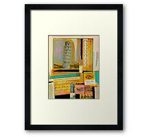 Somewhere a Voice is Calling Framed Print