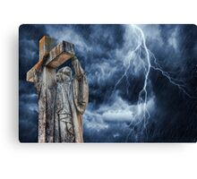 The Tempest (Geelong Cemetery) Canvas Print