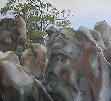 Hanging Rock II by Melati Hewison