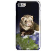 Earth Day Ferret iPhone Case/Skin