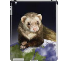 Earth Day Ferret iPad Case/Skin