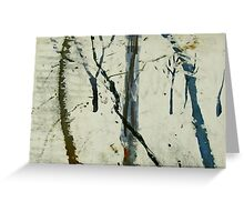 blue creek scape Greeting Card