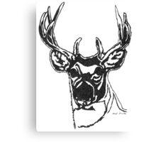 LINEart T-shirt : Big Brother Deer. Canvas Print