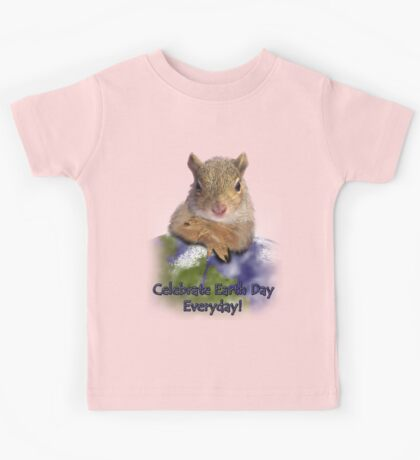 Celebrate Earth Day Everyday Kids Tee